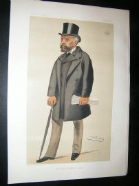 Vanity Fair Print: 1881 Earl Nelson, Clergy